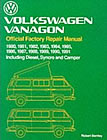 'Bentley Vanagon Workshop manual ALL models [Inc. Deisel] 1980 to 91' click here to order !