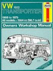 'Haynes 1600cc VW Aircooled Owners Manual' click here to order !