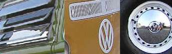 compilation of VW Camper van body panels