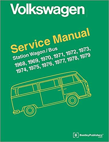 Volkswagen Station Wagon/Bus Official Service Manual: Type 2 (Volkswagen Service Manuals) Hardcover – Illustrated, 11 Oct 2010