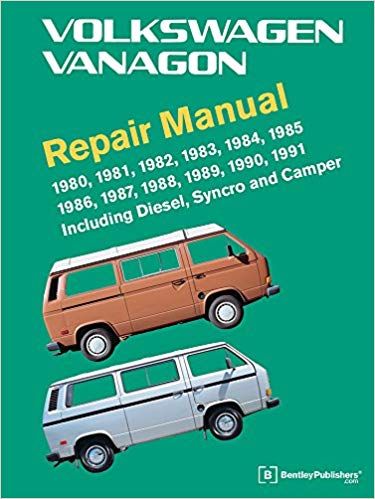 Volkswagen Vanagon Official Factory Repair Manual: 1980, 1981, 1982, 1983, 1984, 1985, 1986, 1987, 1988, 1989, 1990, 1991: Including Diesel, Syncro, and Camper Hardcover – Illustrated, 1 Feb 2011